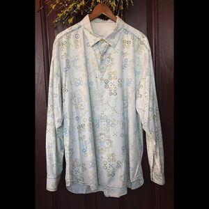 Tommy Bahama Long Sleeve Button Down Shirt